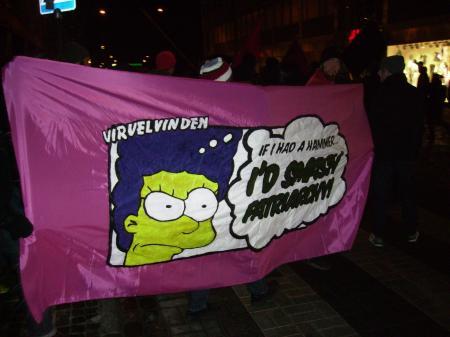 8 mars i Lund 2010 - Internationella kvinnodagen 100 år - kommunism
