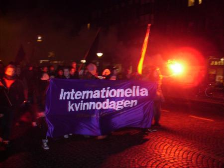 8 mars i Lund 2010 - Internationella kvinnodagen 100 år