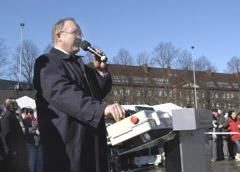 Citytunneln, Göran Persson inviger starten 8 mars 2005